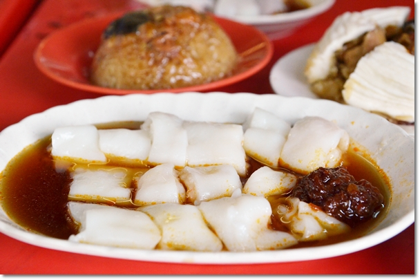 Steamed Cheong Fun