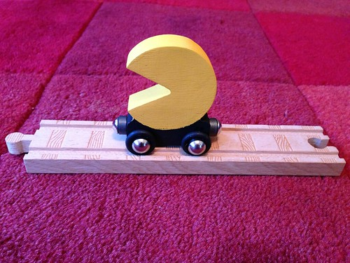 Pacman train car prototype