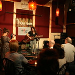 Mon, 03/06/2013 - 8:48pm - KT Tunstall with an audience of WFUV Members, June 3, 2013. Hosted by Carmel Holt. Photo by Laura Fedele