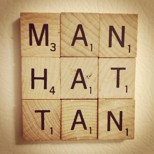 14 Point word. #manhattan #manhattanks #scrabble