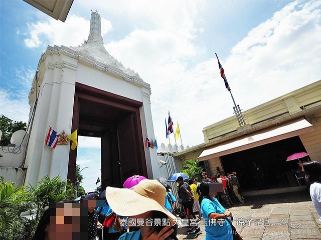 泰國曼谷景點 大皇宮 玉佛寺 31