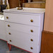 Retro 4 Drawer chest of drawers €55