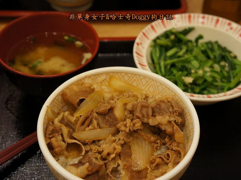 Sukiya日本牛丼咖哩飯01