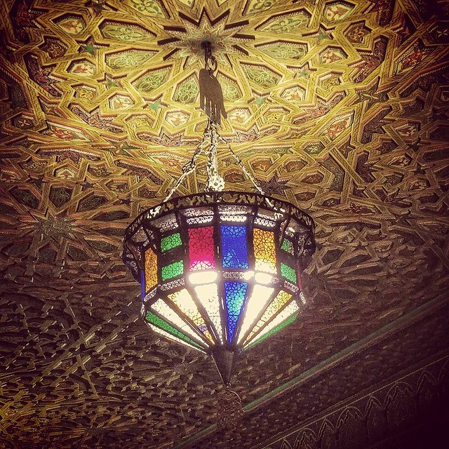 Restaurante Al Mounia. #colorful
