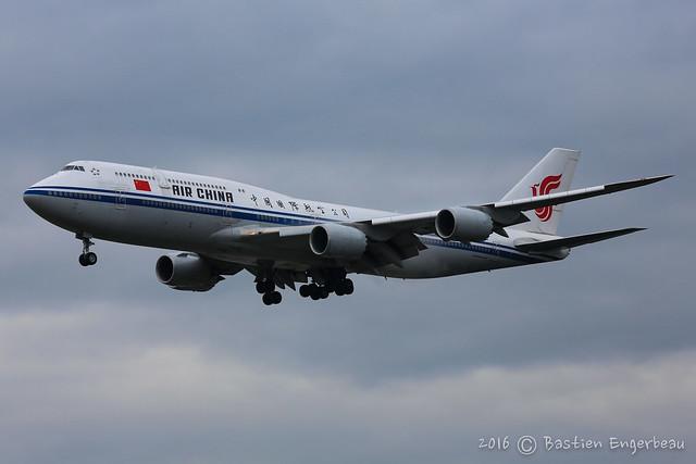 B-2487 - Boeing 747-89L - Air China - CN 44932/1508