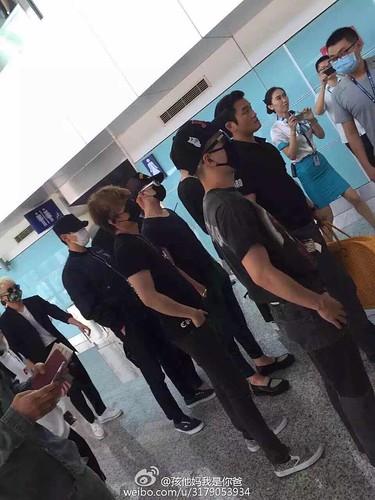 BIGBANG Arrival Dalian from Seoul 2015-06-26 156