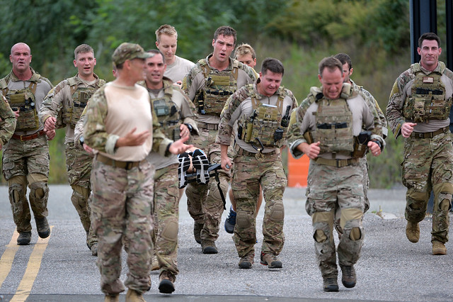 106th Rescue Wing Participates in 5k SARC Run