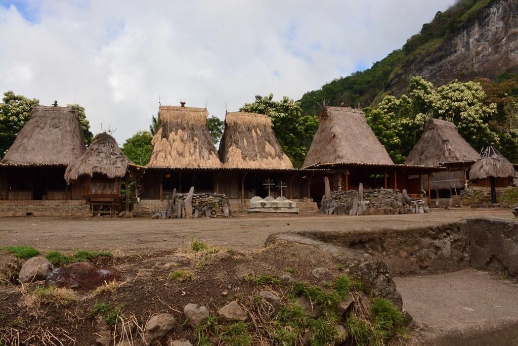 Gurusina indigenous Ngada village (Flores, Indonesia 2016)