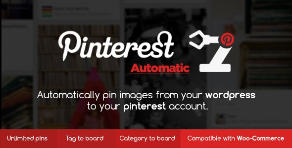 Pinterest Automatic Pin WordPress Plugin v4.6.1
