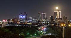 Fort Worth October Supermoon