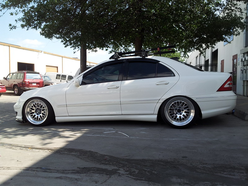 W203 Cl203 Stance Suspension Fitment Thread Mbworld Org Forums