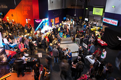 Maker Faire UK 2013 - Busy