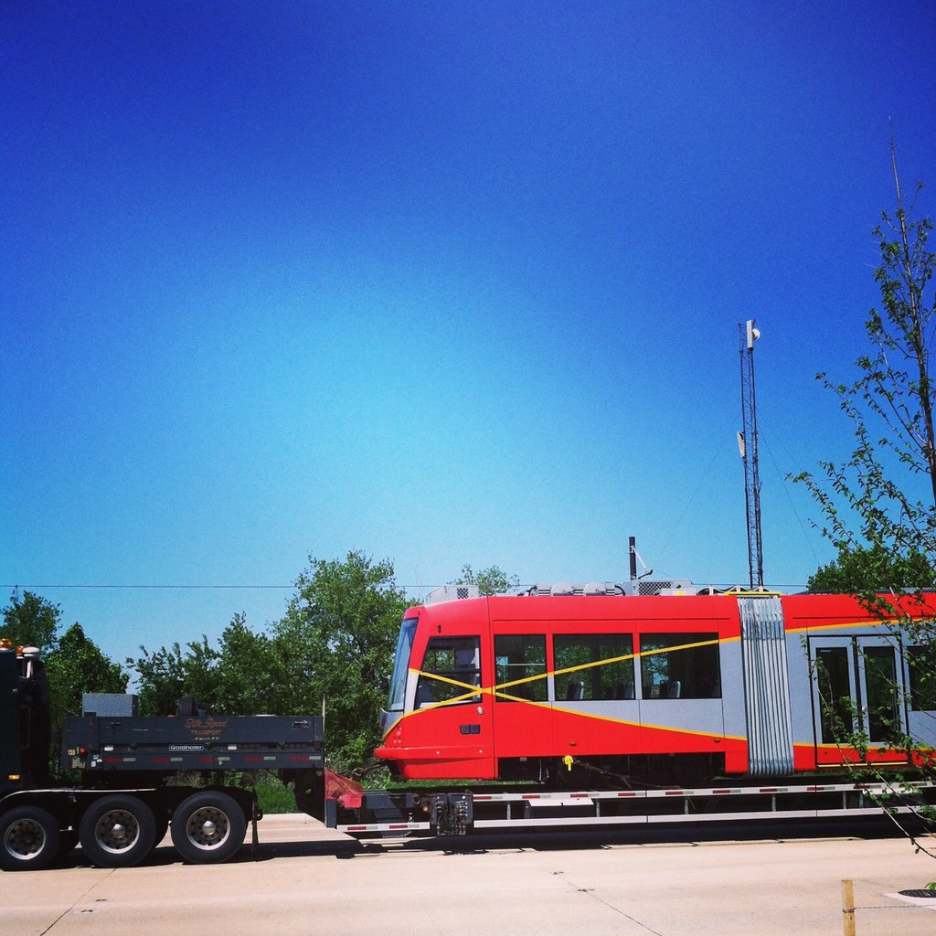 Arrival of Streetcar #2