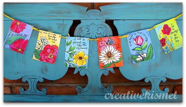 Paper Blessing Banner/Prayer Flags by Regina Lord