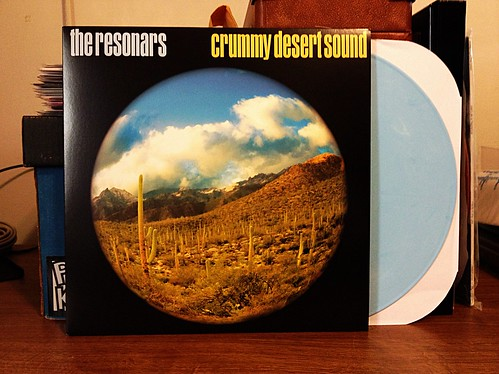 Resonars - Crummy Desert Sound LP - Blue Vinyl (150) by Tim PopKid