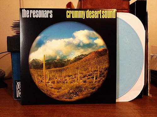 Resonars - Crummy Desert Sound LP - Blue Vinyl (150) by Tim PopKid