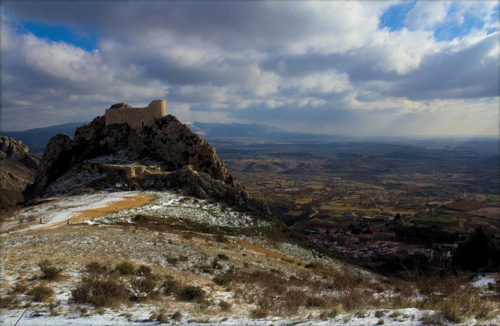 Castillo de Poza de la Sal, en Burgos. Autor, Antecessor