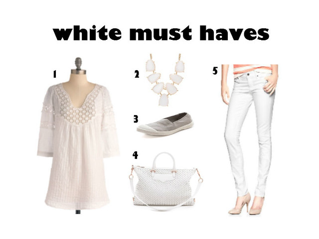White for her