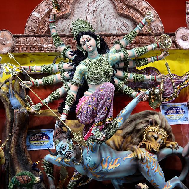 Durga is Durgatinashini