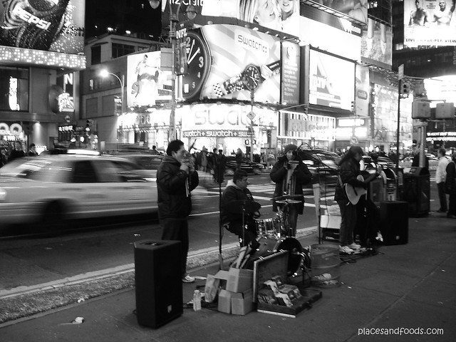 new york bw street performers