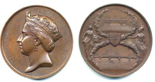 Blackfriar's Bridge medal