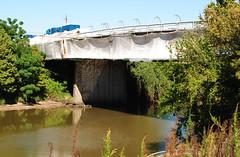 Painting & Renovation, Jensen Dr (Hill St) Bridge over Buffalo Bayou, Houston, Texas 1310061517