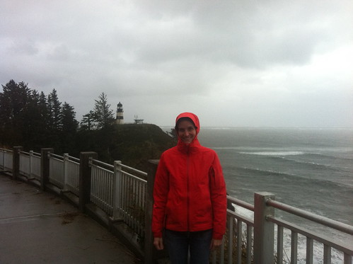 Photo with the Cape Disappointment Lighthouse