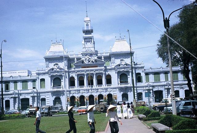 Saigon 1965 - Tòa Đô Chánh - Photo by Jordan, 7/65-3/66