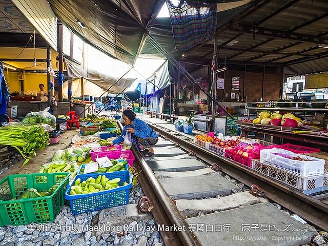 美功鐵道市場 Maeklong Railway Market 泰國自由行 58