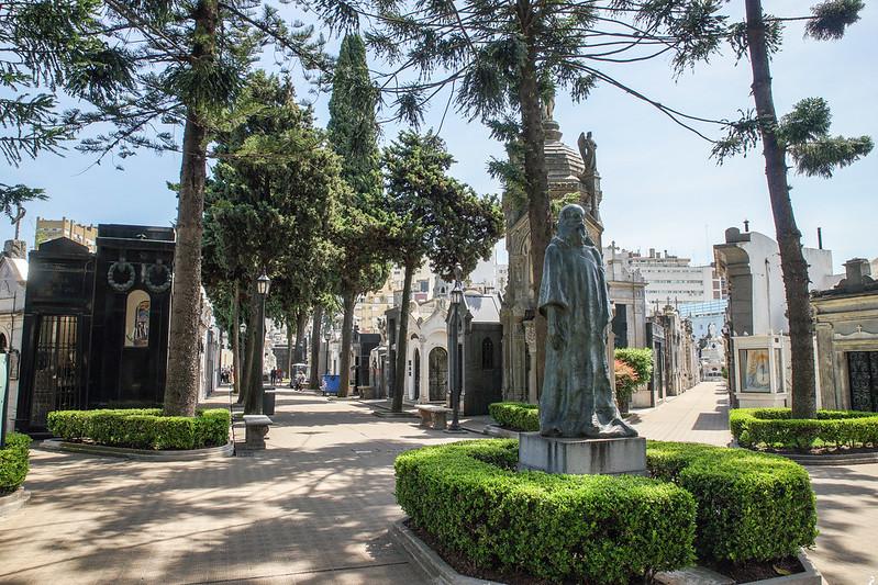 Cementerio de la Recoleta Buenos Aires Argentina Argentiina cemetery graveyard hautausmaa necropolis