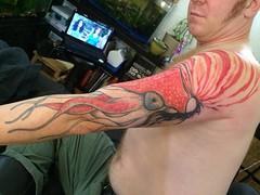 Siri made this nice #nautilus sleeve. Thanks for looking!  SLC Ink Tattoo 1150 South Main Street Salt Lake City, Utah (801) 596-2061 slcinktattoo@gmail.com www.slctattoos.com   #slc  #tattoo #slcink #utahtattoo #utahtattoos #saltlaketattoo #slctattooartis