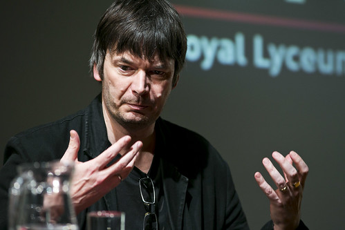 Ian Rankin at the Royal Lyceum 2013/14 season launch. Photo © Eoin Carey