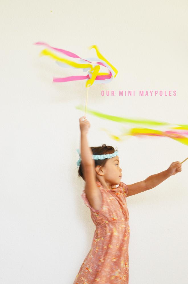 our mini maypole