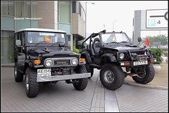 Toyota Land Cruiser BJ40, Suzuki 410 Jeep, Hong Kong