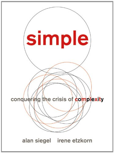 """Simple"" book cover"