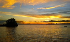 prasetyoikwan posted a photo:	Sunset at Melawai Balikpapan