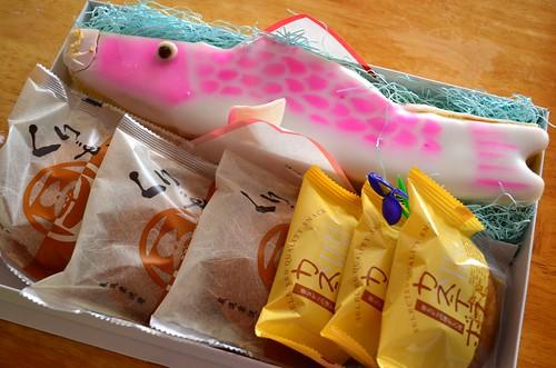 こどもの日 鯉菓子