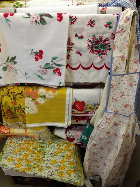 1950s linens