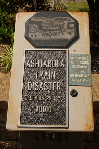 Ashtabula Train Wreck Memorial - Ashtabula, Ohio