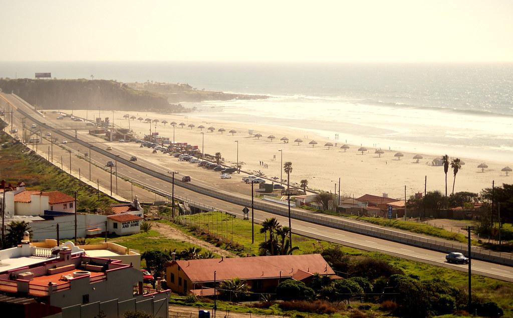 Playa Carretera Escenica Tijuana Ensenada Por Jonnomnom En Flickr