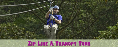 Zip Lining and Tranopy Tour in Costa Rica