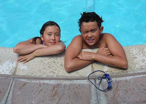 Swimming Kids, pool