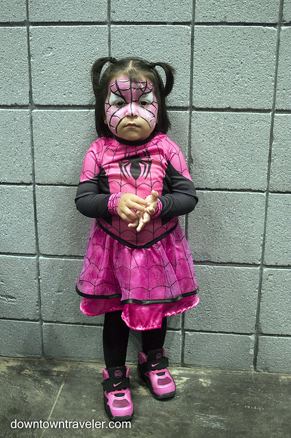 NY Comic Con Kids Costume Spiderman Girl
