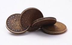 Wechsler9 interlocked Hong Kong coins