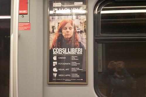 """In voga """"Corsi Liberi"""" in #metro"""