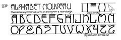 Jan 1 Alphabet nouveau
