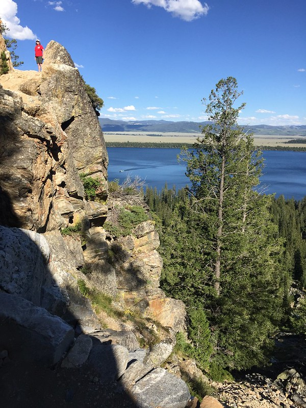 Hiking to Inspiration Point, Grand Teton National Park