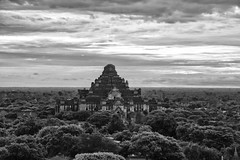 Bagan 2016 in Black and White