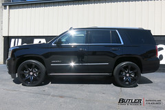 GMC Denali with 24in Black Rhino Mozambique Wheels and Toyo Proxes STII Tires