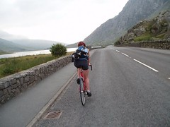 Cycling to Pen-Y-Pass Image